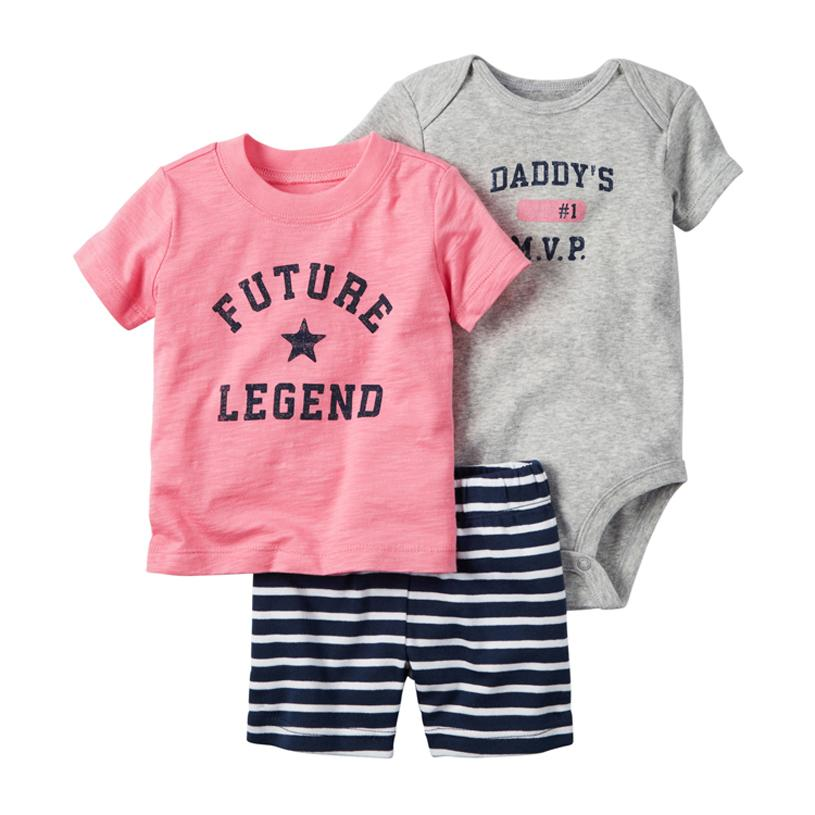 a8e48407dd9a 2019 2018 Baby Boy Girl Clothes Summer Clothing Set Style Autumn ...