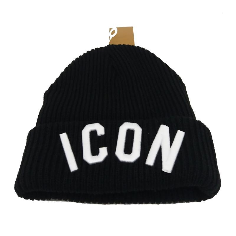Luxury Brand Cap Unisex Beanie Hat Sports Warmer Thermal Winter ... b3bc370ef71