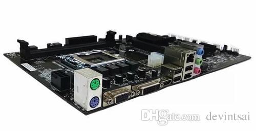 Для красочных материнских плат H81A-BTC-V20 Miner LGA1150 DDR3 MATX Поддержка 6 видеокарт