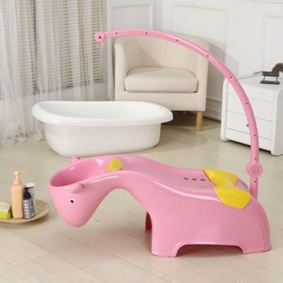 2018 Children Bath Tub Set Large Baby Bathtub Cartoon Horse Water ...