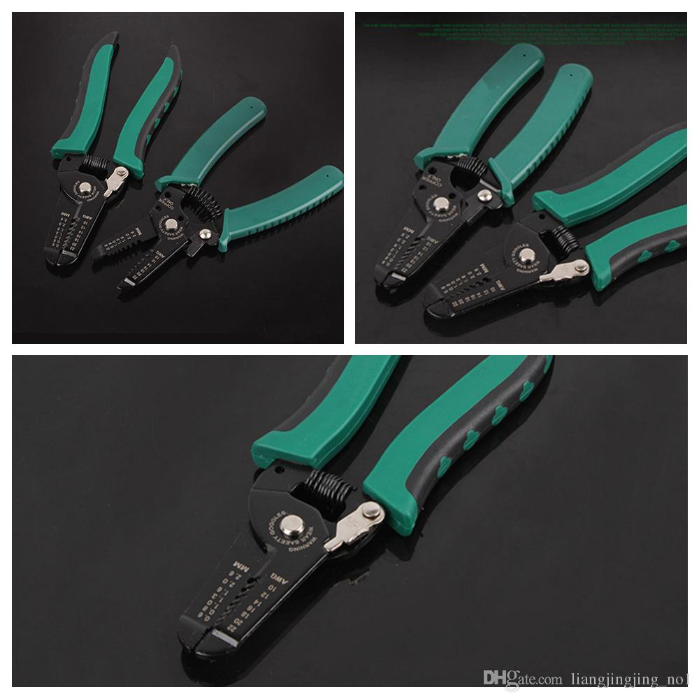 2018 Multifunctional Cable Wire Stripper Stripping Cutter Cutting ...