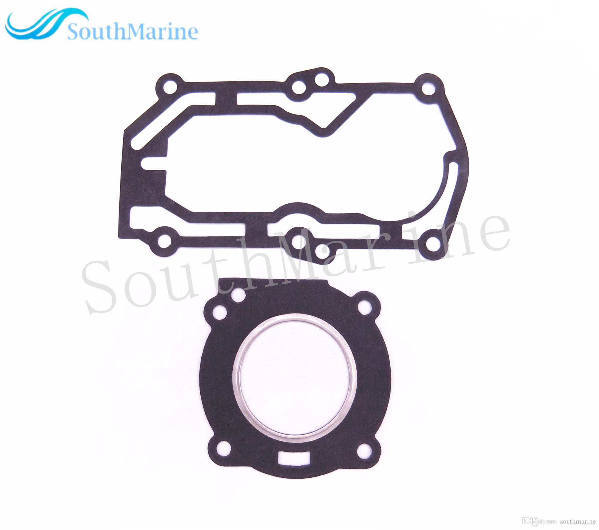 Boat Motor Complete Power Head Seal Gasket Kit for Parsun HDX 2-Stroke T2.5 T3.6 Outboard Engine