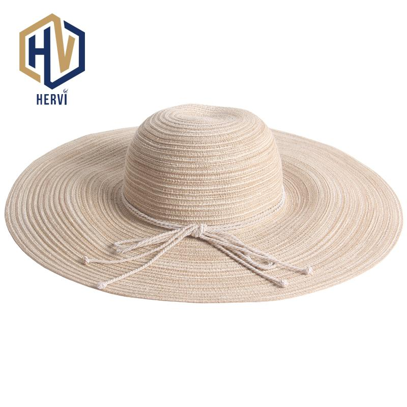720c153e7a8 2018 Top Brand Wide Brim Vacation Holiday Summer Hat Women Elegant Fashion Female  Hat Beach Sun Shade Straw Hats Chapeu NS41 A Mens Hat Styles Hat From ...