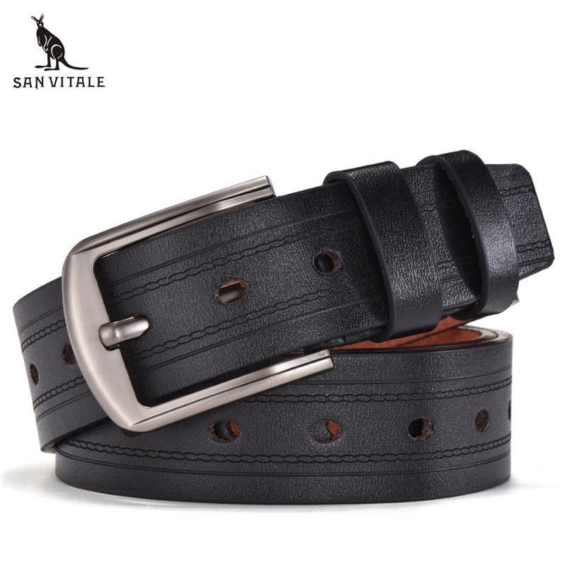 f67b3d76e188 Compre Cinturón Para Hombre Cinturones De Cuero De La Pu Correas Elásticas  Hombre Reversible Diseñador De Gran Tamaño Ropa Casual Accesorios Ropa  Cintura ...