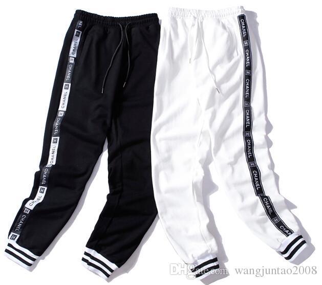 0872083d7c27 2018 Autumn Trousers European And American Fashion Fashion Tie ...