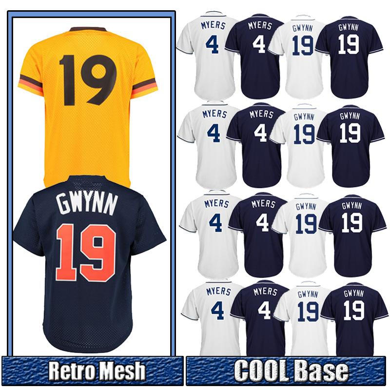 3cef3 6fc93 promo code for 2019 san diego padres jersey 19 tony gwynn 4 wil  meyers 2018 new ... f07c45e52