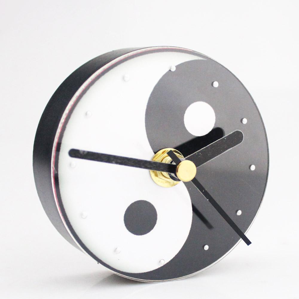Yin Yang Wall Clock Fridge Magnets Clock Refrigerator Fengshui Good ...