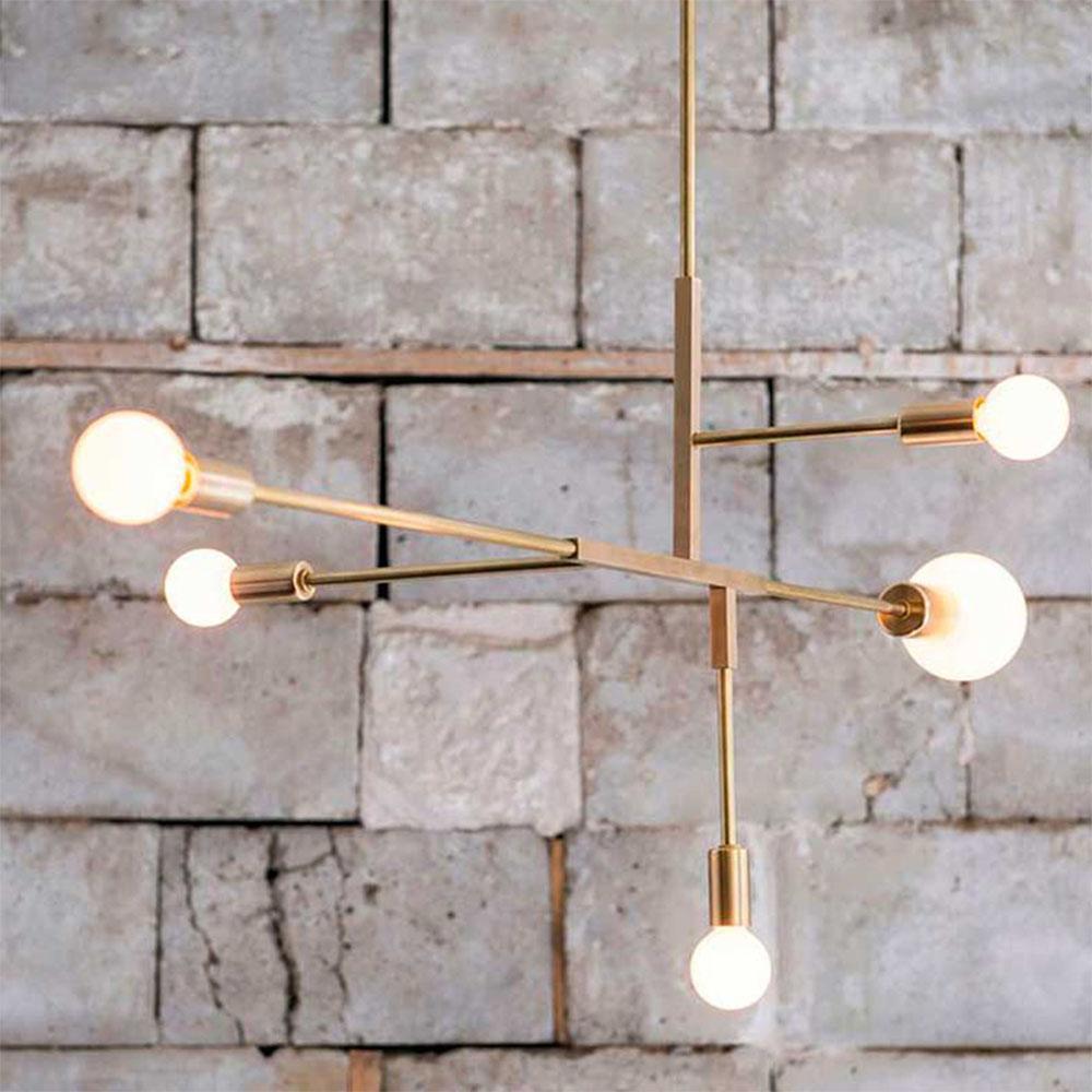 LED Pendant Lights E27 Gold Nordic Modern Living Room Bedroom ...