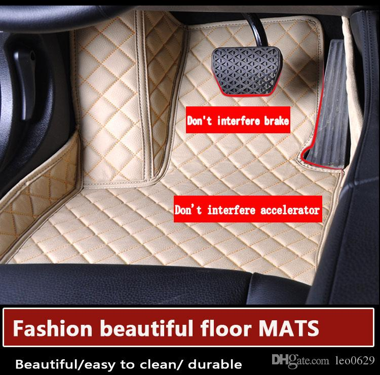 Wholesale Custom Car Floor Mats for BMW X1 X5 e70 328i 335i 528i f10 745i 745Li serie 1 f20Car Accessories Auto Floor Mat Carpets Automatten