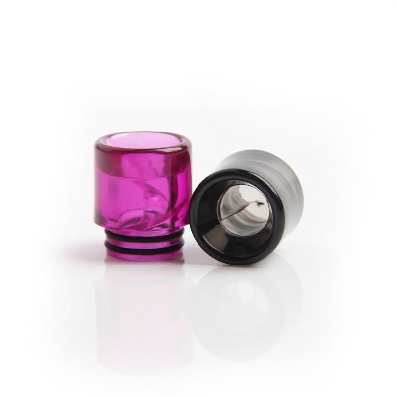 810 나선형 물방울 팁 다채로운 810 나선형 물방울 팁 최고의 전자 담배 피우는 전자 담배