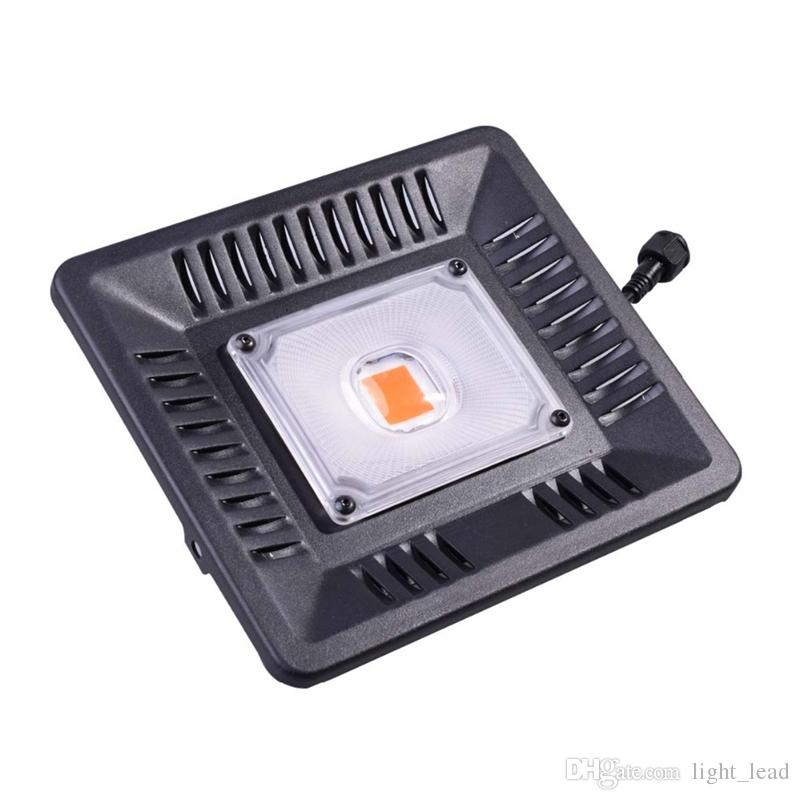 Led Grow Light Full Spectrum 100W Waterproof IP67 COB Grow LED Lamp for Plant Indoor Outdoor Hydroponic Greenhouse Lighting