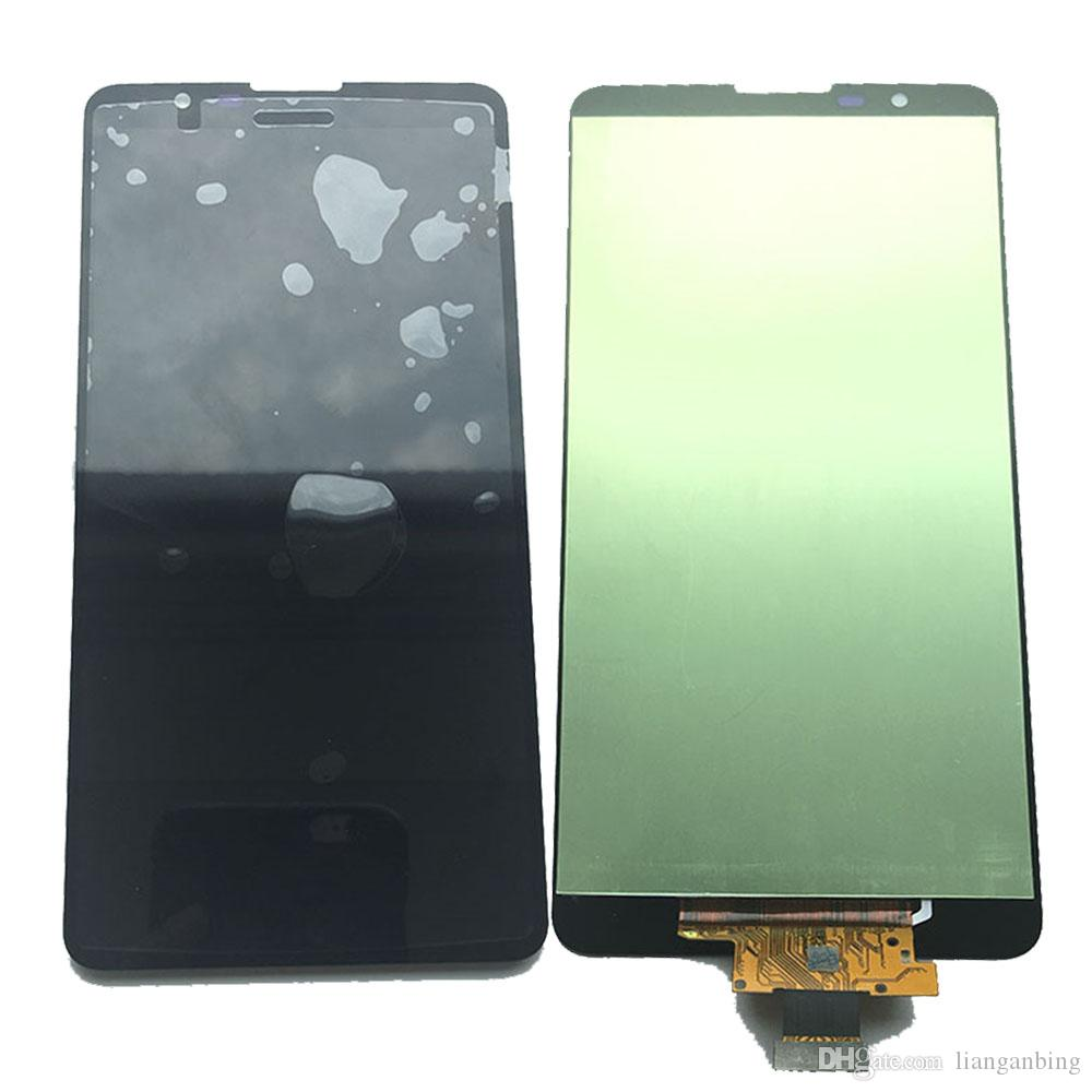 1a481b4ee3c Soporte Movil Para Pantalla NUEVO Pantalla LCD Pantalla Táctil De Reemplazo  Paneles Digitalizadores Con Ensamblaje Para LG Stylus 2 K520 LS775 Negro Con  ...