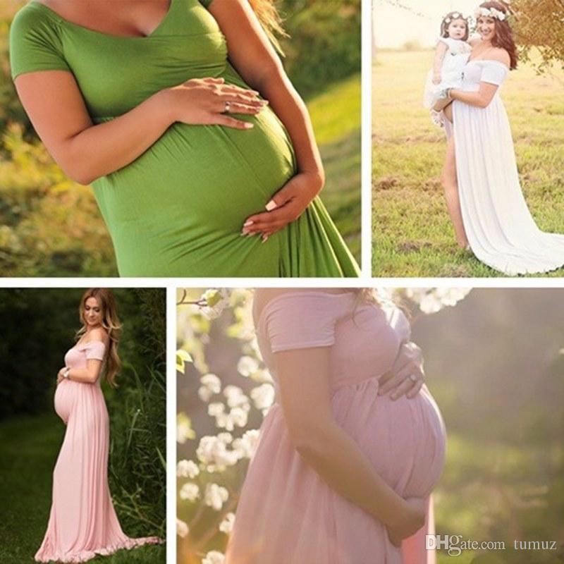 أوروبا والولايات المتحدة لفتح كلمة مثير ، شوكة التنانير الطويلة ، النساء الحوامل تنورة