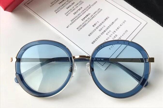142f40980da New Vintage Sunglasses SF1001 Famous Italy Designer Popular Sunglasses  Fashion Round Frame Style Light Color Summer Sunglasses Anti UV Lens  Designer ...