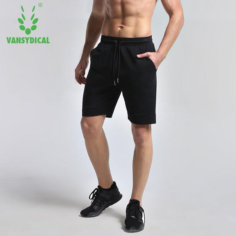Compre Vansydical Sports Shorts Algodón Hombre Transpirable Running Fitness  Entrenamiento Pantalones Cortos De Baloncesto Jogging Gym Bolsillo Con ... 7c22b35c37f42