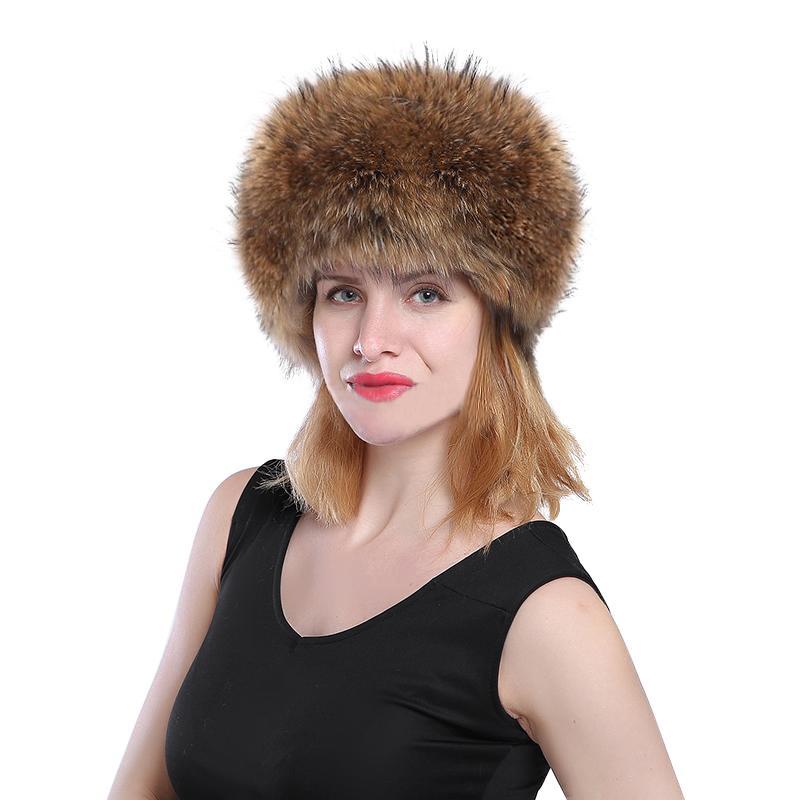 c74c013a9bb 2018 New Winter Fur Hat Women Long Faux Rabbit Fur Winter Snow Hat Full Cap  Warm Thick Russia Beret Beanies UK 2019 From Spectalin