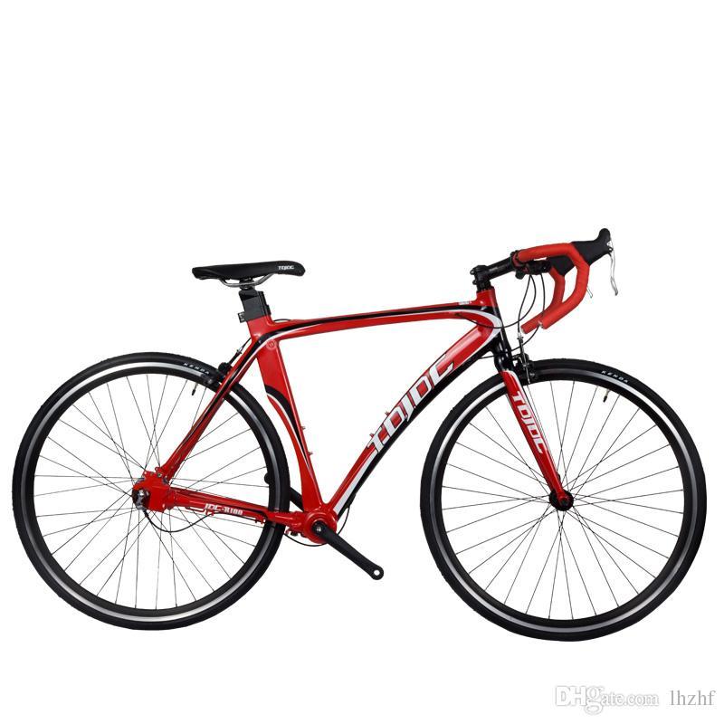 Bici Da Strada Professionale Da Uomo 700c Bicicletta Per Studenti Trasmissione Ad Albero Di Alta Precisione Senza Catena 3 Velocità Interna