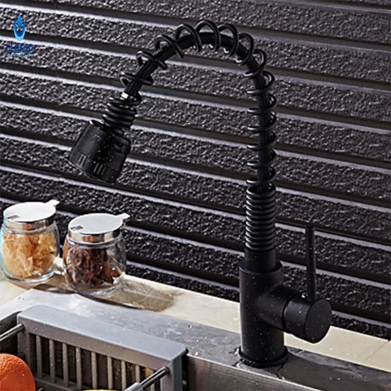2018 Ulgksd Spring Kitchen Sink Faucet 2 Types Outlet Water Sprayer
