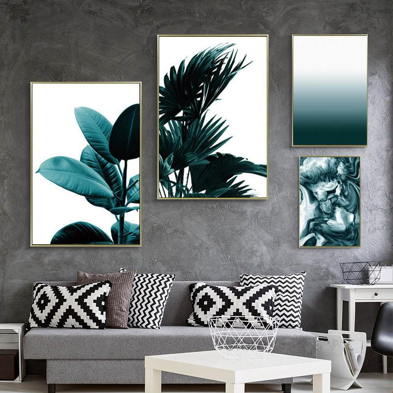 2018 Posters And Prints Wall Art Canvas Painting Cuadros Beach ...