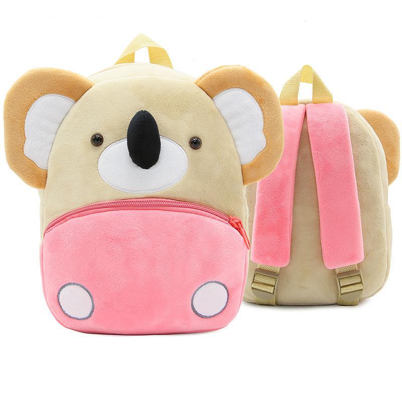 a2b49d828 Plush Children Backpacks Kids Kindergarten School Bags Cute Kids ...