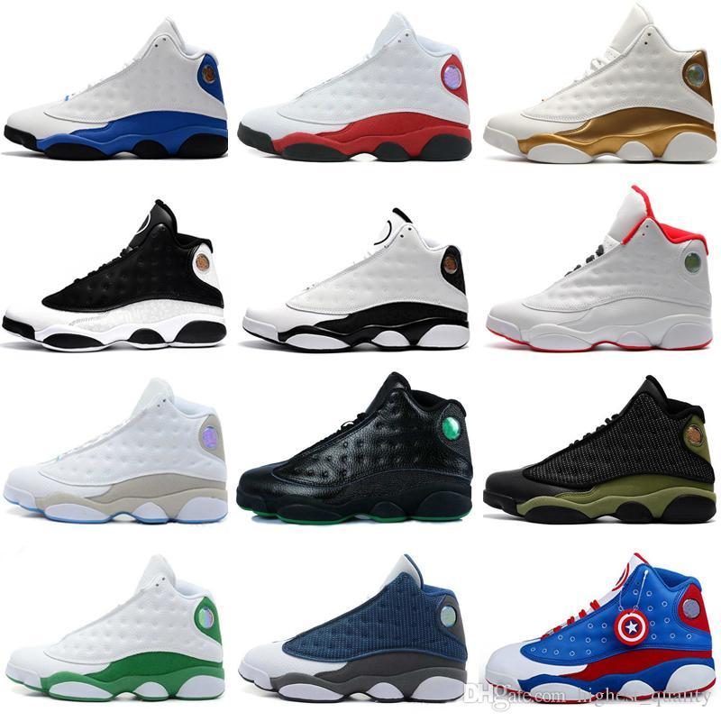 a79b80fe5a7 Acquista 13 13s Scarpe Da Basket Da Uomo Brown He Got Game Ologramma Baroni Sneakers  Da Donna Donne Scarpe Da Ginnastica Sportive Scarpe Da Corsa Uomo ...