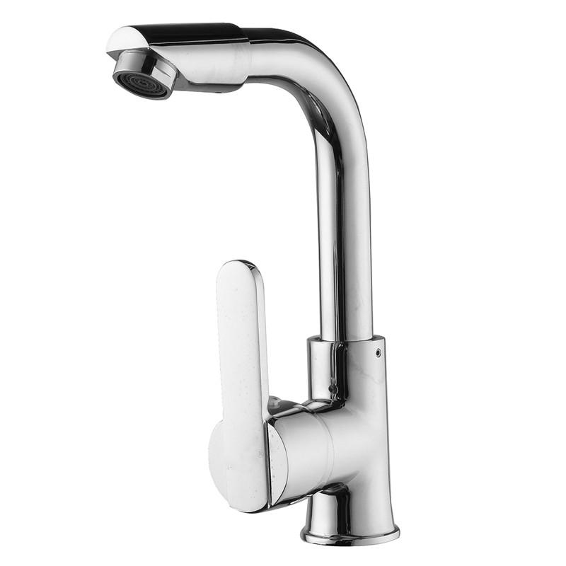 Exceptionnel 2019 Xueqin Chrome Bathroom Faucet Single Hole 360 Degree Roatation Handle  Cold And Hot Water Kitchen Tap Sink Mixer From Plumer, $22.24 | DHgate.Com