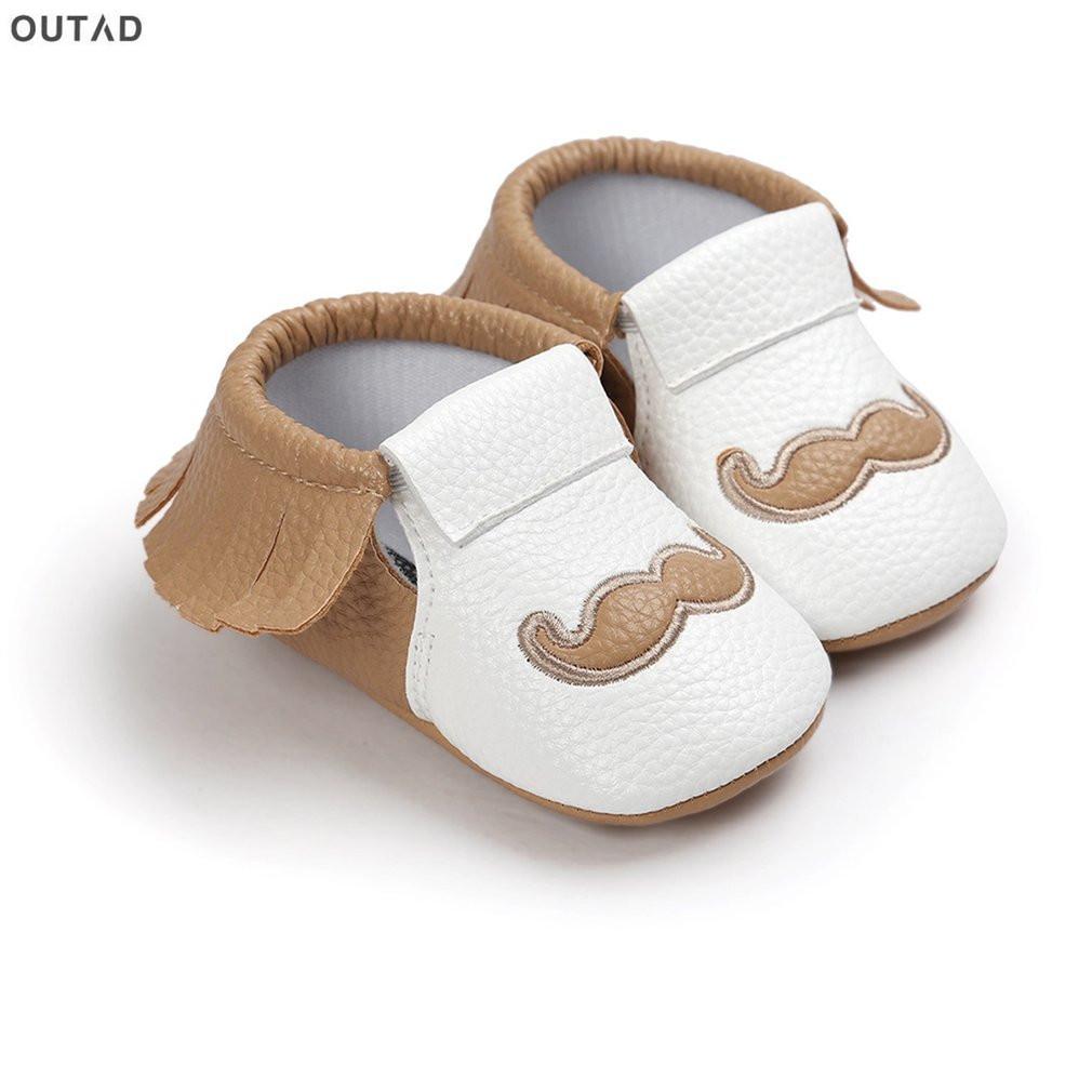 0a8c9cc66fbee Acheter Gland Moustache Imprimer Chaussures Nouveau Né Infant Bébé Bébé  Garçon Filles Chaussures Antidérapant Semelles Souple Nfants Baskets  Premier ...