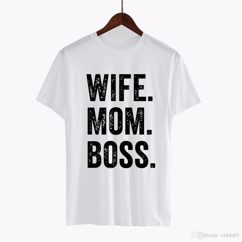 Le lettere casuali di abbigliamento divertente delle donne hanno stampato le magliette della maglietta delle magliette delle parti superiori della maglietta femminile di estate di T Trasporto libero