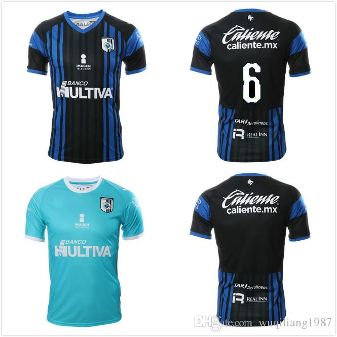 Camiseta De Fútbol De Calidad Superior 2019 Querétaro Fc Camiseta 2018 19  Liga Mx Queretaro Camiseta De Fútbol Local Visitante Liga De México  Camisetas De ... 394f95ded8e3a