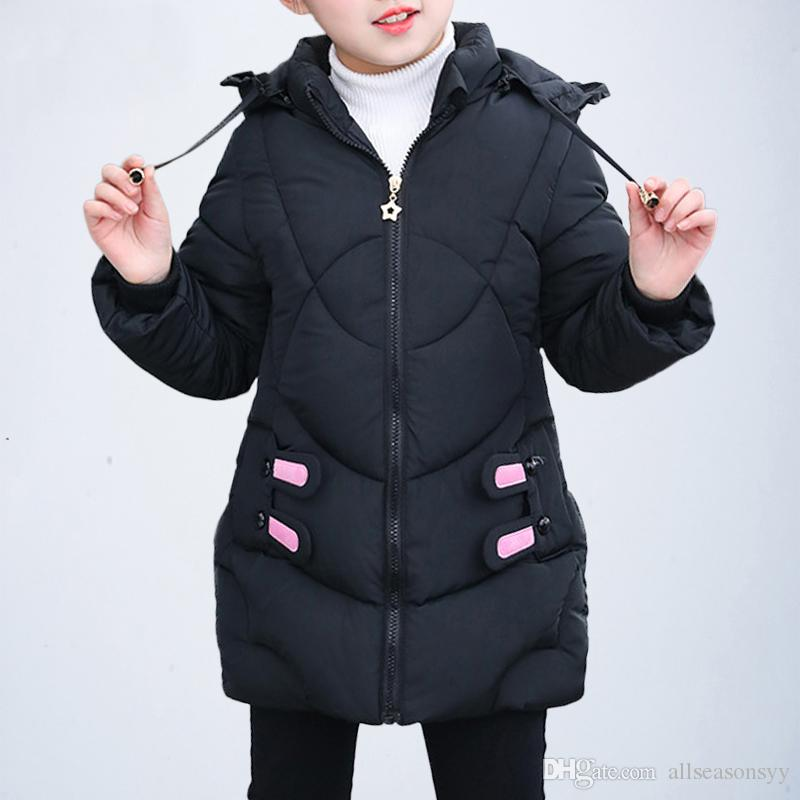 fa8eb6664 Children Winter Jacket Girls Parka Coats Baby Girls Clothing Kids ...