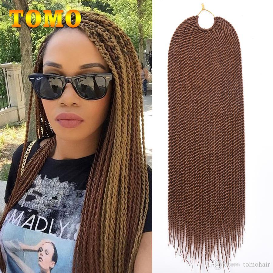 2019 Tomo Crochet Braids Senegalese Twist Braiding Hair Weave Pure