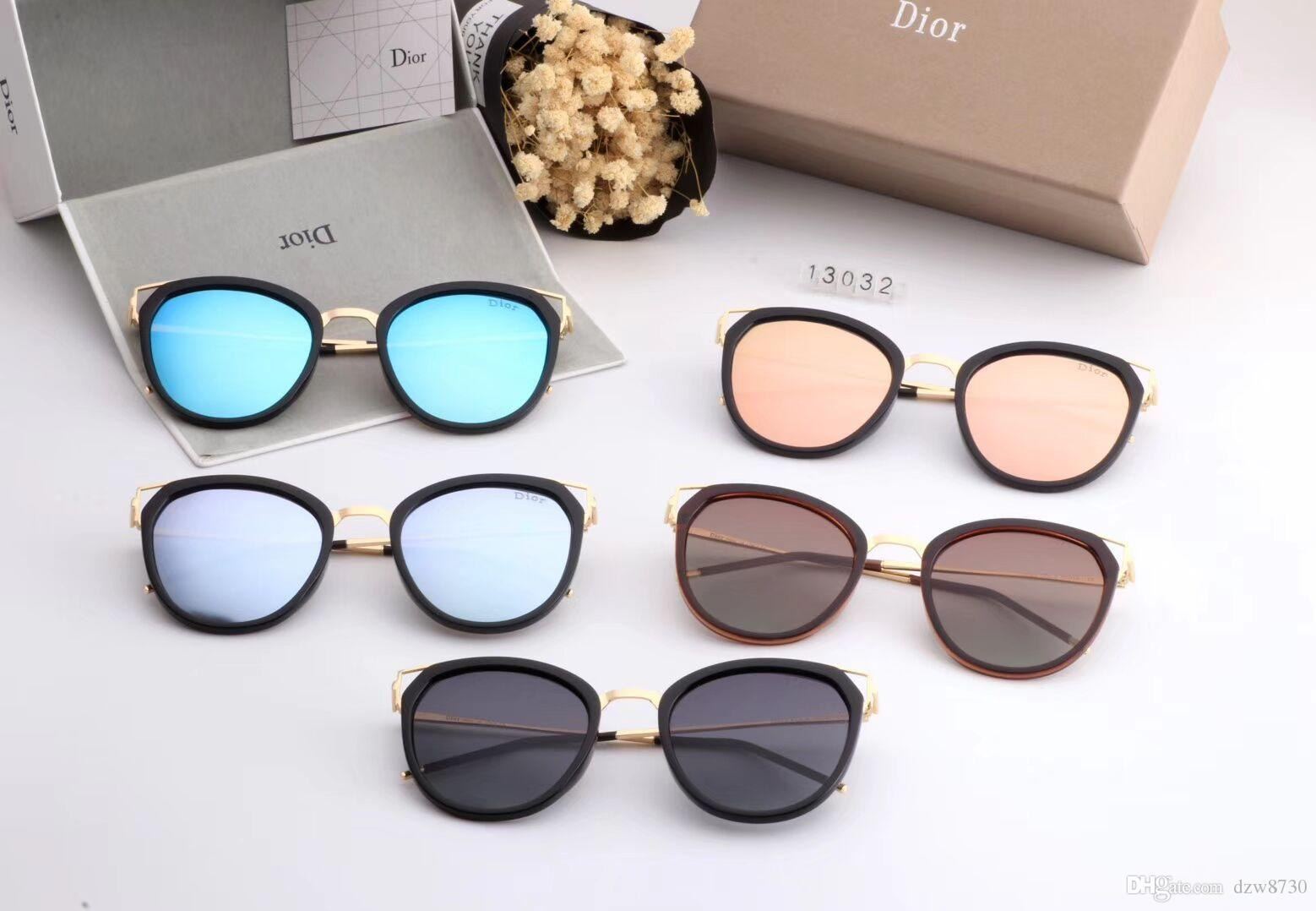 c04a6a11a1 New designer sunglasses 2238 sunglasses for women men sun glasses women  brand designer coating UV protection Pearl rivets fashion sunglasses