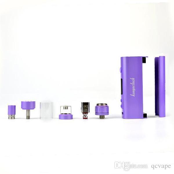 New kanger subox nano Starter Kit Kbox nano 50W E cigarette 18650 Mod Subtank nano 3mL OCC Sub ohm e Cigarette DHL Free
