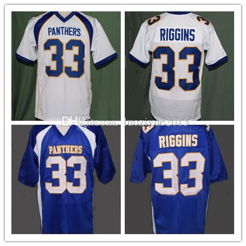 check out 47f82 32c35 FRIDAY NIGHT LIGHTS TIM RIGGINS #33 FOOTBALL JERSEY Embroidery Stitched  Custom any Number and name Jerseys