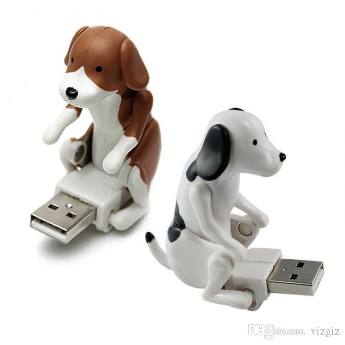 Portable 8G/16G/32G Humping Cute Spot Dogs Toy USB Flash Drive Relieve Pressure For Office Worker Gifts XXM8