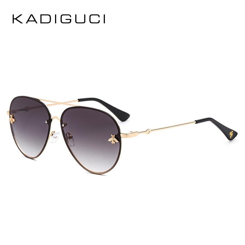 d00ad9a7d2 KADEGUCI 2018 Fashion Women Oval Sunglasses New Rimless Metal Frame Summer  Style Ocean Lens Vintage Sun Glasses UV400 K193 Cheap Eyeglasses Online ...