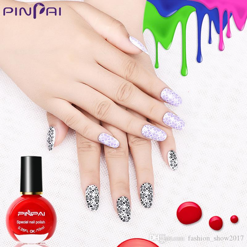 New Pinpai Hot Selling Nail Printing Polish 10ml Painting Nail ...