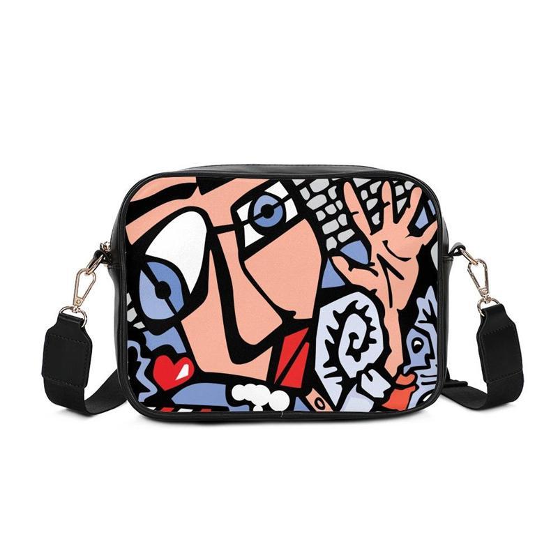 Fashion Patchwork Women Shoulder Bag PU Leather Handbag Luxury ... 876b5c8cee