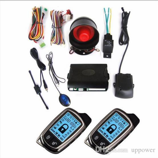 CarBest New Vehicle Security Paging Car Alarm 2 Way LCD Sensor Remote Engine Start System Kit Automatic | Car Burglar Alarm System-02