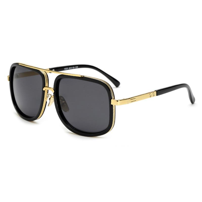 Compre Homens Oversized Mach Um Óculos De Sol Dos Homens Marca De Luxo  Mulheres Óculos De Sol Quadrado Masculino Retro De Sol Óculos De Sol  Femininos Para ... 0a99963c71