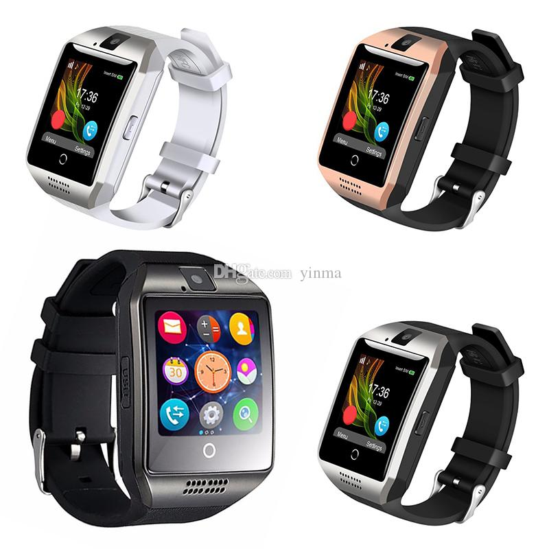 Q18 Smartwatch Bluetooth Smart Watch Support SIM TF Card With 1 3MP HD  Camera For iOS Android Phone Smart Watches