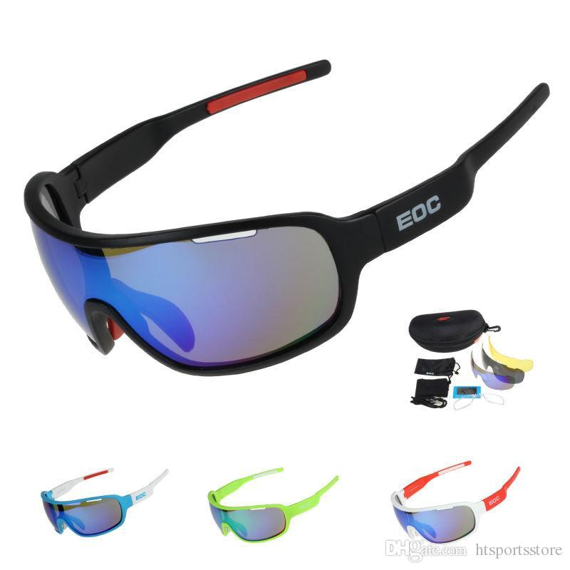 adc44e7e21 2019 Cycling Glasses Polarized Bike Riding Protection Goggles Driving  Fishing Outdoor Sports Sunglasses UV 400 3 Lens From Htsportsstore