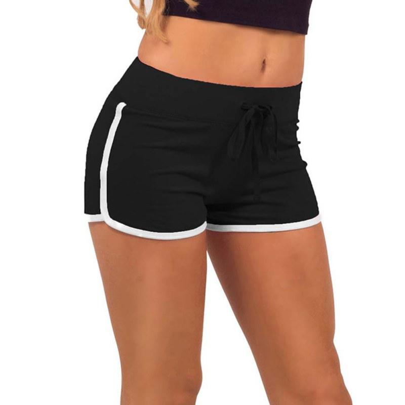 2019 Promotions Women Sport Fitness Shorts Curve Sport Running Yoga For Ladies  Athletic Shorts Gym Clothes Sportswea From Vanilla12 2a8d9f37ae