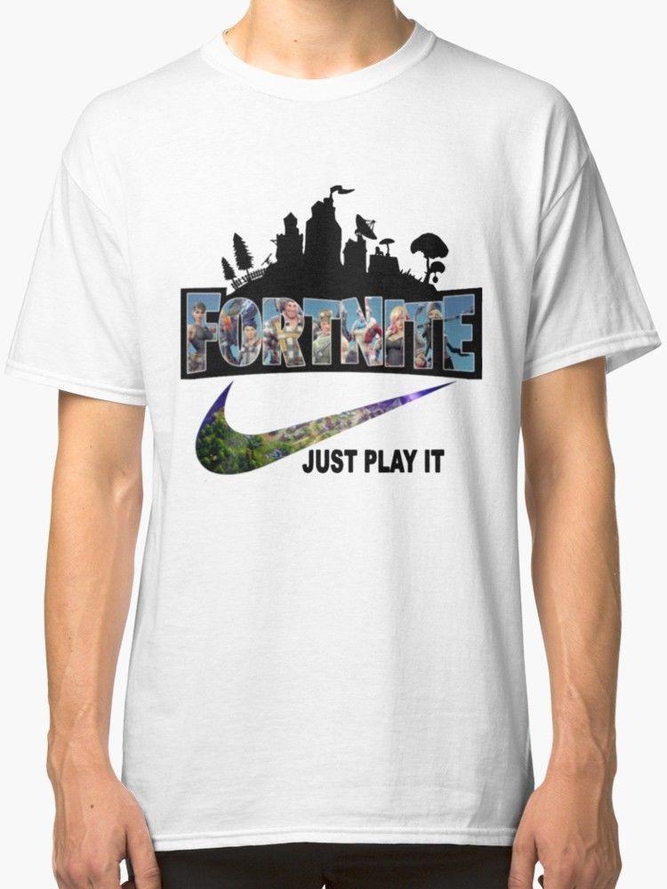 Grosshandel Neu Fortnite Just Play It Manner T Shirt Von Chenximei007