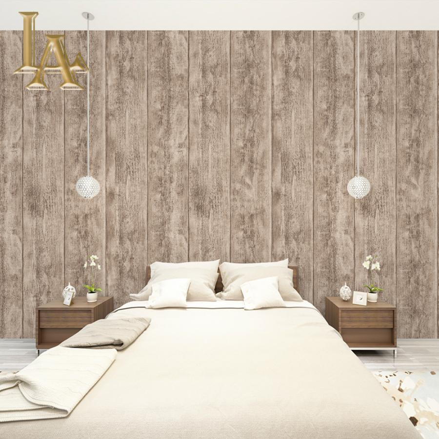 Modern Simple 3d Wooden Wallpaper For Walls Vinyl Wall Paper Rolls ...