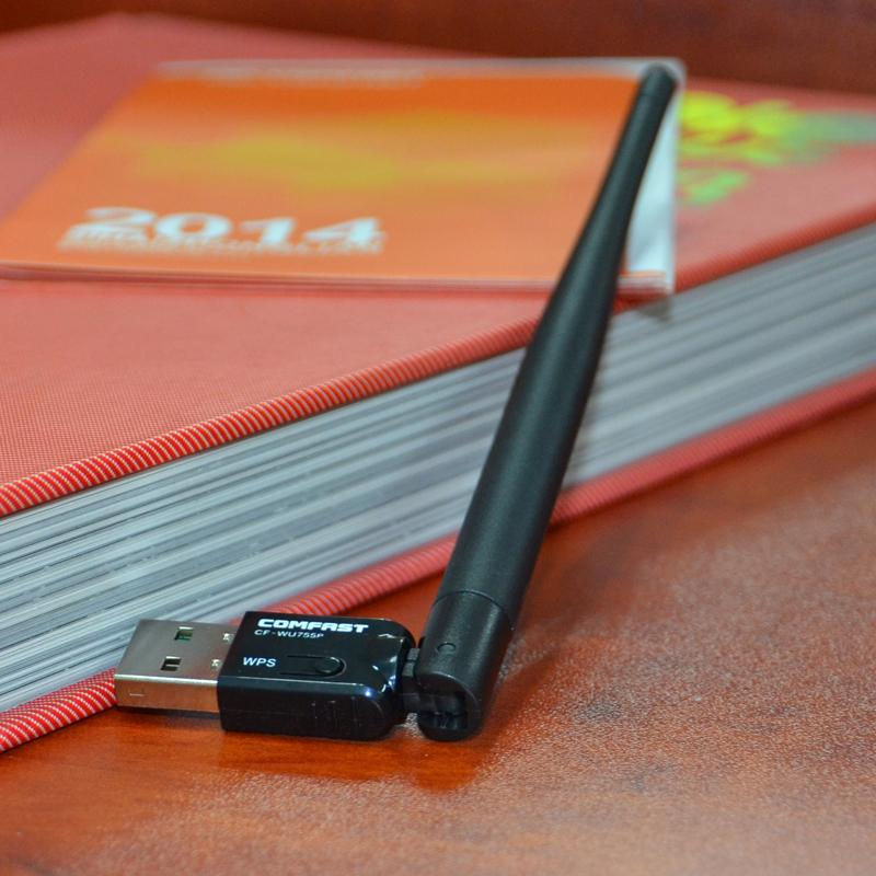 Comfast Realtek 8188Eu PC Wifi adapter 150M 5dBI WiFi Antenna Wireless Computer Network Card 802.11a/b/g/ Wi-Fi Wlan For Desktop