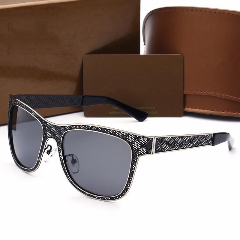 Großhandel Marke Sonnenbrille Halbrahmen Frauen Männer Marke ...
