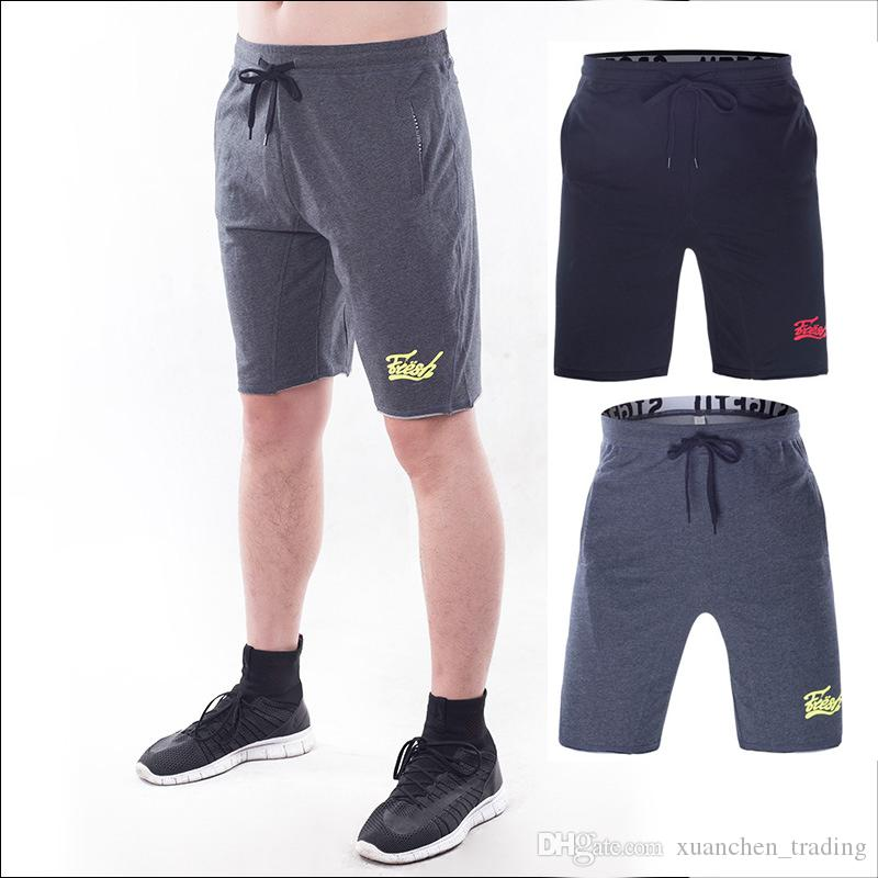 Mens Sportswear for Gym Workouts and Running On Sale, Black, Cotton, 2017, S OVERCOME