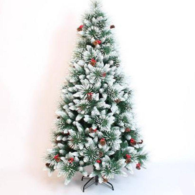 1.8M / 180CM Modified Pine Needle Mixed Snow Christmas Tree Christmas Hotel  Shopping Arcade Decoration Decoration Christmas Deco Christmas Decor From  Galry, ... - 1.8M / 180CM Modified Pine Needle Mixed Snow Christmas Tree