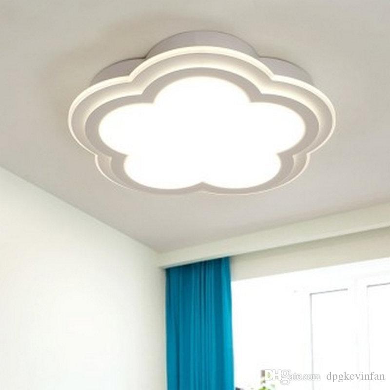Acquista D50cm 30W LED Modern White Cloud Acrilico Plafoniere Camera Da  Letto Soggiorno Sala Da Pranzo Hotel A $172.93 Dal Dpgkevinfan | DHgate.Com